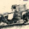 墨のF1アート:鈴鹿F1<br />(墨のF1アート 垂井ひろし展 at ベルシティ)  (c)垂井ひろし
