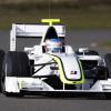 ジェンソン・バトンがブラウンGPフォーミュラワン・チームのニューマシンをシルバーストンでシェイクダウン! (2009 F1)