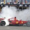 マッサ、F60をドライブ(1)<br />(2009 F1 フェラーリイベント ワールド・ファイナルズ)  (c)Ferrari