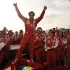 マッサ、F60をドライブ(2)<br />(2009 F1 フェラーリイベント ワールド・ファイナルズ)  (c)Ferrari