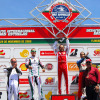 久しぶりに本格的レースに参加したマッサ。日曜のレースではミハエルを下し見事優勝  (c)Ferrari