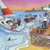 バーニーのF1風刺画クリスマスカード。今年の主役はブリアトーレ? (2009 F1)