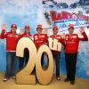 フェラーリとMotoGP「ドゥカティ」のスキーミーティング (2010 F1 フェラーリスキーミーティング)  (c)Ferrari