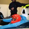 ミハエル・シューマッハー、ヘレスでGP2マシンをドライブ(2)  (c)Brawn GP