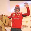 早くもチームに溶け込んだ様子のアロンソ (2010 F1 フェラーリスキーミーティング)  (c)Ferrari