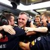 2019年F1第12戦ハンガリーGP マックス・フェルスタッペンがポールポジションを獲得に沸くレッドブル・ホンダ  (c)RedBull