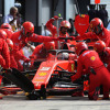 2019年F1第14戦イタリアGP セバスチャン・ベッテル(フェラーリ)  (c)XPB Images