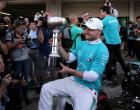メルセデスがコンストラクターズチャンピオンを獲得