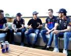 MotoGPライダーのマルク・マルケスが訪問