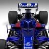 2019年F1新車 トロロッソ・ホンダSTR14  (c)Toro Rosso