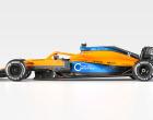 F1新車発表 マクラーレンMCL35
