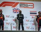 2020年F1第15戦バーレーンGP表彰台