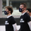 2020年F1第17戦アブダビGP ダニール・クビアト&ピエール・ガスリー(アルファタウリ・ホンダ)  (c)XPB Images