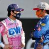 2020年F1第17戦アブダビGP セルジオ・ペレス(レーシングポイント)&カルロス・サインツJr.(マクラーレン)  (c)XPB Images