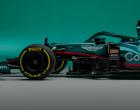 F1新車発表 アストンマーティンAMR21