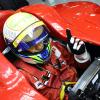 マシン開発に自信を見せるマッサ (2009 F1 バーレーンテスト)  (c)Ferrari