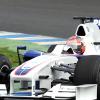 クビカは、タイヤウォーマーが禁止される2010年用のブリヂストンタイヤをテスト (2009 F1 ヘレステスト)  (c)BMW AG