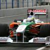 新車VJM02のデータ収集を着々と行うフィジケラ (2009 F1 ヘレステスト)  (c)Force India