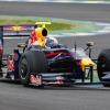 初日のテストではベッテルがフェラーリを抑えトップタイム。RB5のポテンシャルの高さを見せつけた (2009 F1 ヘレステスト)  (c)crash.net