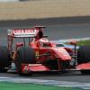 4日目、2番手のタイムを記録したライコネン (2009 F1ヘレステスト)  (c)Ferrari
