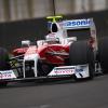 131周もの走行を行ったトゥルーリ (2009 F1ヘレステスト)  (c)Toyota F1