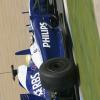 カラーリングを一新したウィリアムズマシン (2009 F1ヘレステスト)  (c)Williams