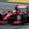 2日目トップタイムのライコネン (2009 F1バルセロナテスト)  (c)Ferrari
