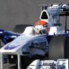初日は習熟走行、及びセッティングを行ったロッシ、82周を走り込み7番手のタイム (2009 F1)  (c)BMW AG