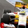 ディ・グラッシ、2日目午後からの走行に参加 (2009 F1)  (c)RenaultF1