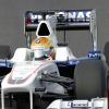 2日目のテストで5番手のタイムを記録したグティエレス (2009 F1)  (c)BMW AG