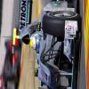 新車W01を初披露したメルセデスGPのニコ・ロズベルグ (2010 F1 バレンシアテスト)  (c)MercedesGP