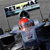 注目を集めたメルセデスGPのミハエル・シューマッハーは初日3番手タイム (2010 F1 バレンシアテスト)  (c)MercedesGP