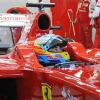 フェルナンド・アロンソが駆るフェラーリF10が最速タイムをマーク(3) (2010 F1 バレンシアテスト)  (c)Ferrari