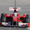 フェルナンド・アロンソが駆るフェラーリF10が最速タイムをマーク(5) (2010 F1 バレンシアテスト)  (c)Ferrari