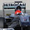 ミハエル・シューマッハーは、3日目のテストで初めて終日に渡る走行を経験(1) (2010 F1 バレンシアテスト)  (c)MercedesGP
