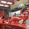 ヘレステスト初日は雨(1) (2010 F1 ヘレステスト)  (c)Ferrari