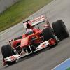 ヘレステスト初日は雨(2) (2010 F1 ヘレステスト)  (c)Ferrari