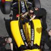 クビカ、車両の重量による挙動の変化やセットアップをテスト(1) (2010 F1 ヘレステスト)  (c)RenaultF1