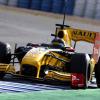 クビカ、車両の重量による挙動の変化やセットアップをテスト(2) (2010 F1 ヘレステスト)  (c)RenaultF1