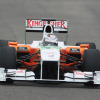 VJM03でロングランを含むプログラムを完遂、テスト最終日には2番手と自己ベストをマークしたスーティル(2) (2010 F1 ヘレステスト)  (c)Force India