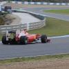 テスト3日目は72周、テスト最終日は160周と精力的に走り込んだマッサ。タイヤの比較テストなどを行った(1) (2010 F1 ヘレステスト)  (c)Ferrari