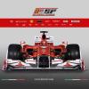 """フェラーリの2010年型マシン""""F10""""(1) (2010 F1)  (c)Ferrari"""