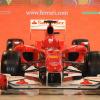 """フェラーリの2010年型マシン""""F10""""(5) (2010 F1)  (c)Ferrari"""