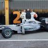 メルセデスGP、アグレッシブな外観のニューマシンW01を公開(1) (2010 F1)  (c)MercedesGP
