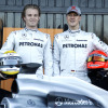 メルセデスGP、アグレッシブな外観のニューマシンW01を公開(2) (2010 F1)  (c)MercedesGP