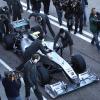 メルセデスGP、アグレッシブな外観のニューマシンW01を公開(3) (2010 F1)  (c)MercedesGP