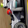シューマッハ、W01をドライブ (2010 F1)  (c)MercedesGP