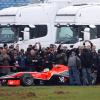 ヴァージン、新車VR-01のシェイクダウンテストを開始(3) (2010 F1)  (c)Virgin Racing