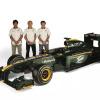 """新生ロータス、新車の名は""""T127"""" 500人の観衆を前にお披露目(4) (2010 F1)  (c)Lotus F1 Racing"""