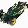 ロータスT127(後方) (2010 F1)  (c)Lotus F1 Racing